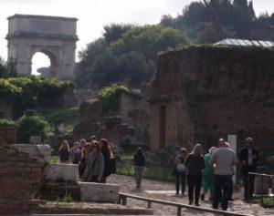 forum romanum łuk tytusa