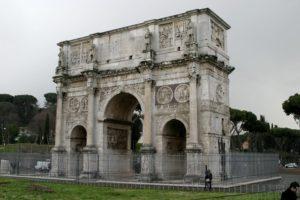 Łuk konstantyna Rzym