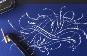 stalówka do kaligrafii