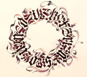 kaligrafia i typografia