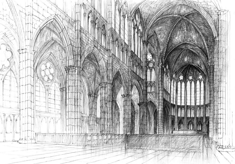 WAPW 1994 Wnętrze Katedry Banak